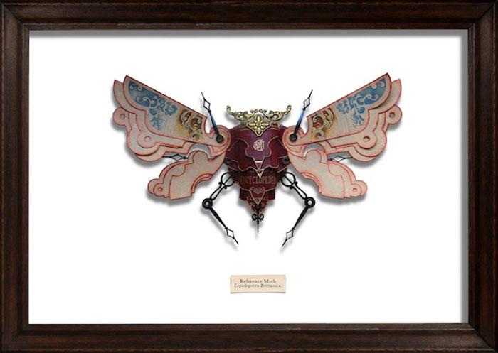 В коллекции Марка Оливера не только жуки, но и стрекозы, и мотыльки.