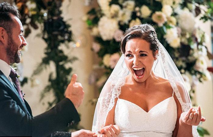 Бен и Стефани познакомились друг с другом на своей свадьбе.