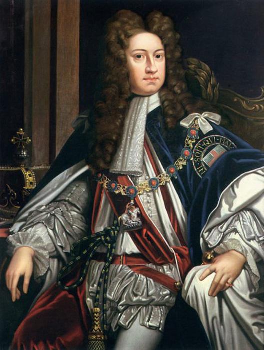 Король Георг Первый был крайне заинтригован этим необычным делом.