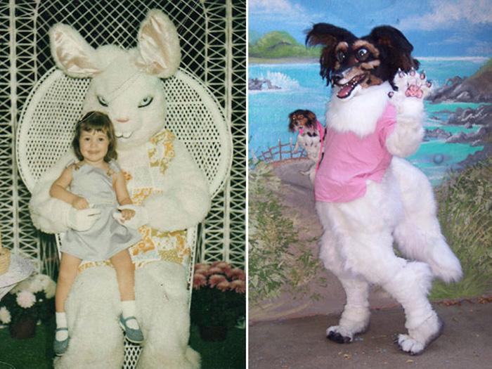 Сумасшедшая собачка и заяц, замышляющий убийство.