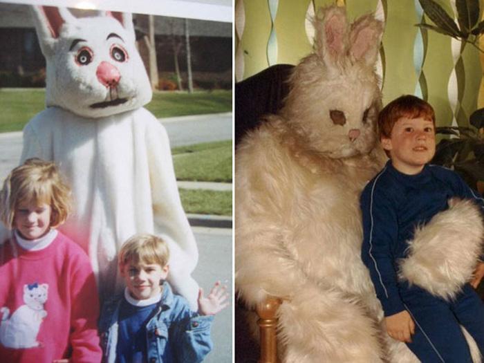 Пасхальные кролики.