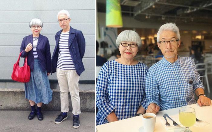Японские пенсионеры. Instagram bonpon511.