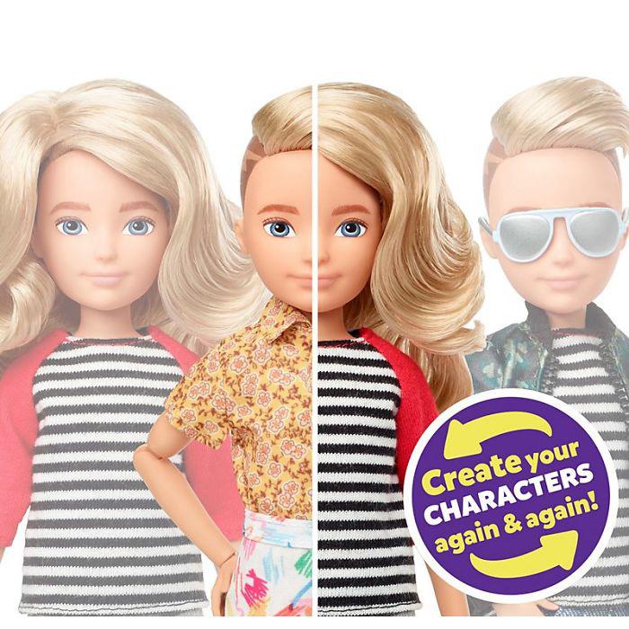 Гендерно-нейтральные куклы.