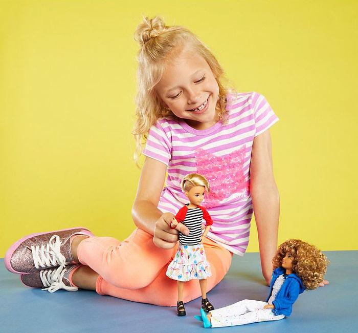 Новая кукла от Mattel.