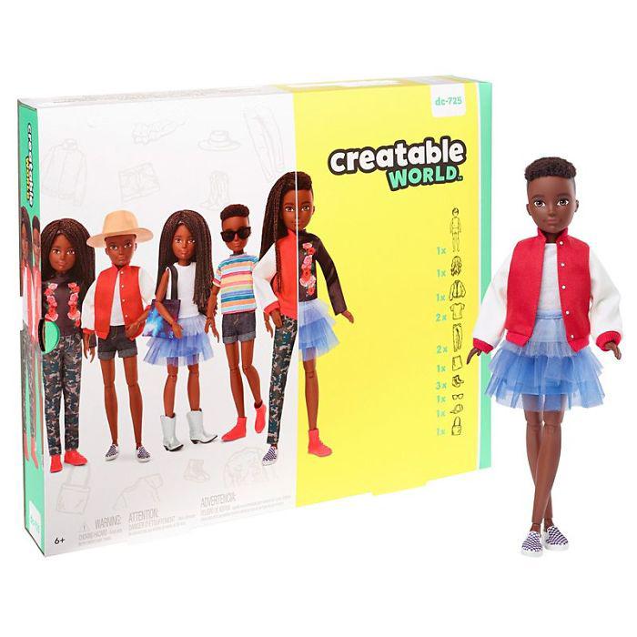 Гендерно-нейтральная кукла.