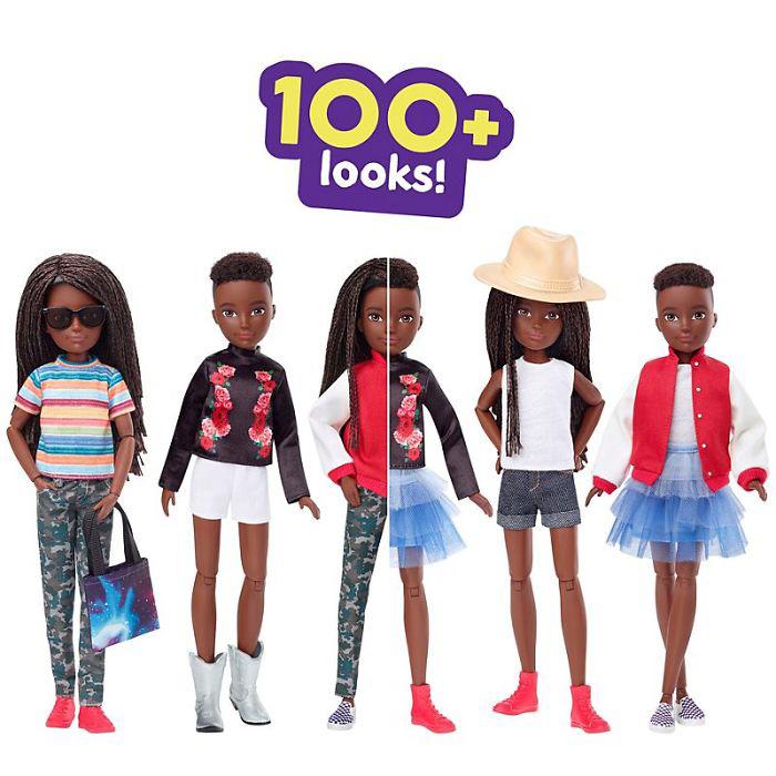 Возможность выбрать вид для своей куклы.