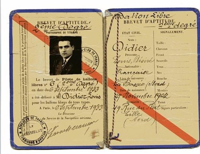 Паспорт отца Мод. Во время Второй мировой войны он присоединился к Сопротивлению и помогал копать тоннель, чтобы помочь евреям бежать в Бельгию.
