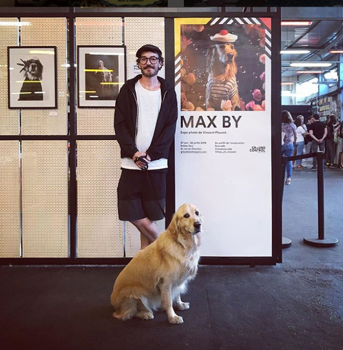 Венсан Флорэ с Максом.