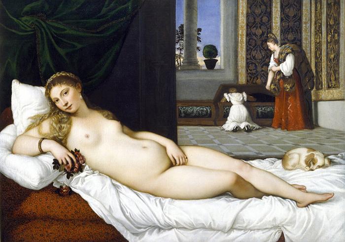Тициан *Венера Урбинская.*