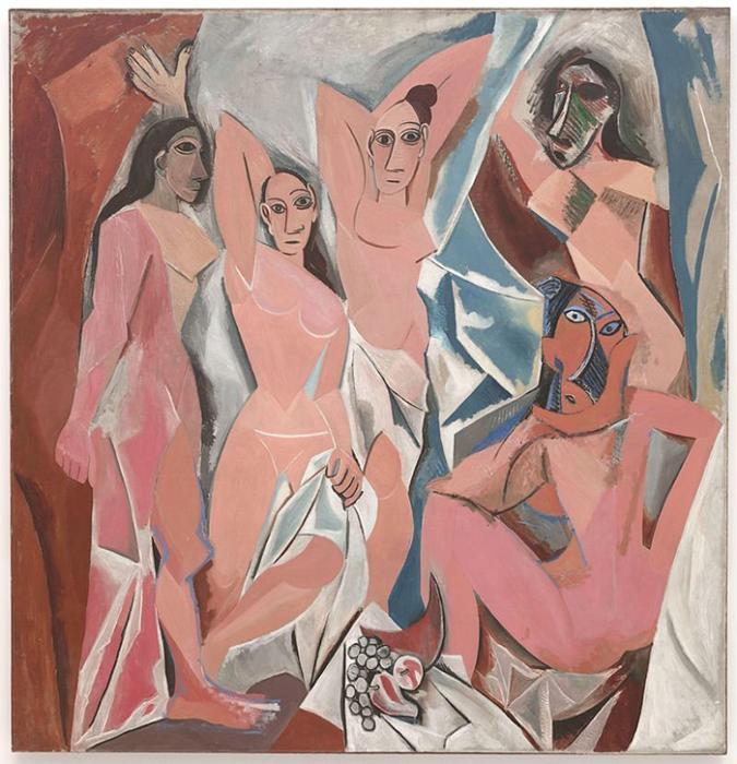 Пабло Пикассо *Авиньонские девицы.*