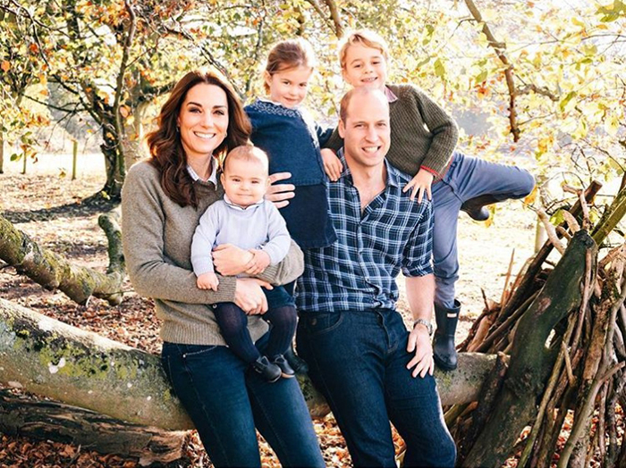 Фотография семьи Уильяма.