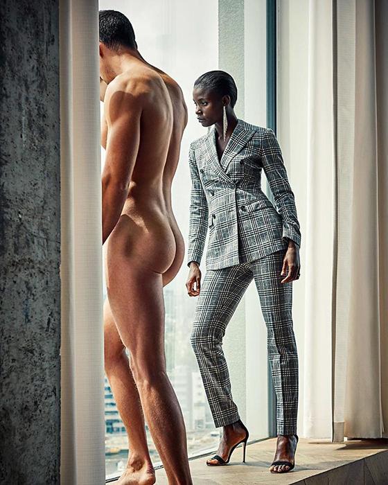 Кампания Not Dressing Men голландской фирмы по продаже одежды для женщин.