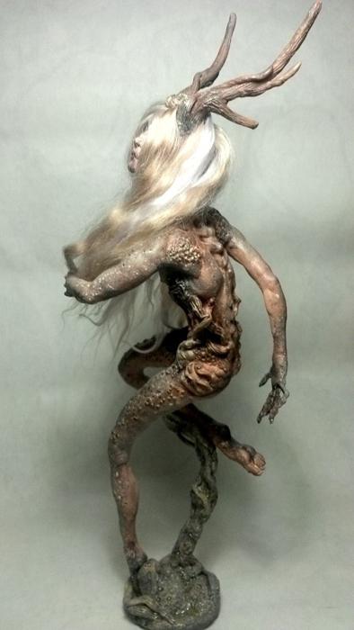 Необычные куклы Мезенцевой Дарьи.