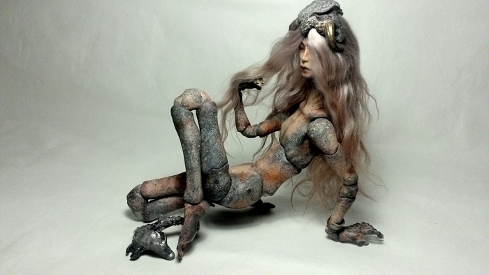 Mezen-doll: работы из папье-маше.