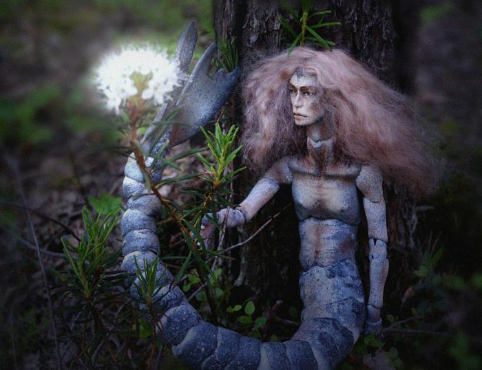 Кукла Вэйре.  Автор фото:  En Forest.