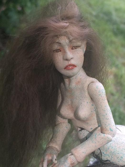Фотография куклы по имени Церь авторства Мезенцевой Дарьи от одной из заказчиц.