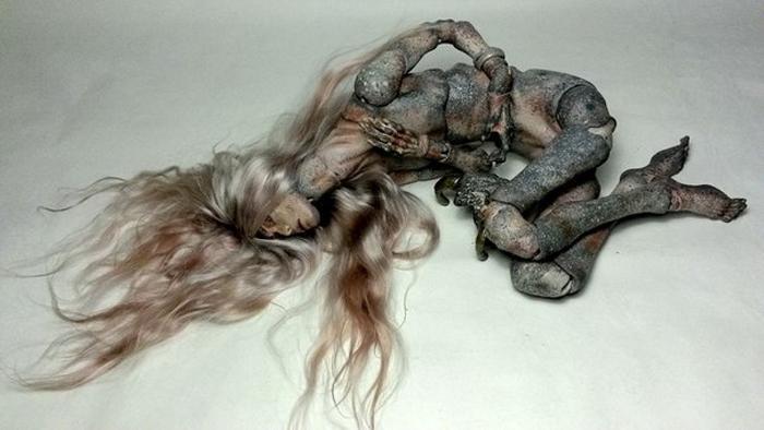 Загадочные куклы от мастера из Санкт-Петербурга.