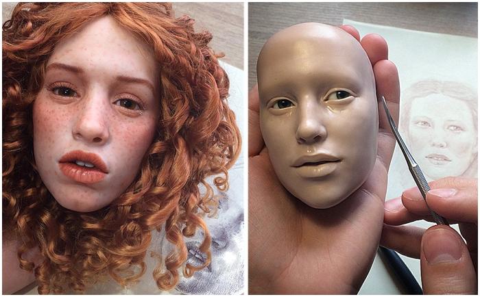 Удивительно реалистичные куклы Михаила Зайкова.