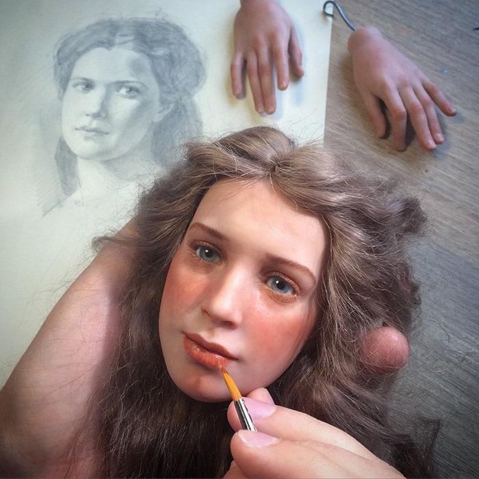 Вдохновение для новых образов Михаил и Ирина ищут среди старых картин или фотографий.