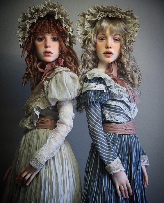 Куклы Михаила Зайкова.