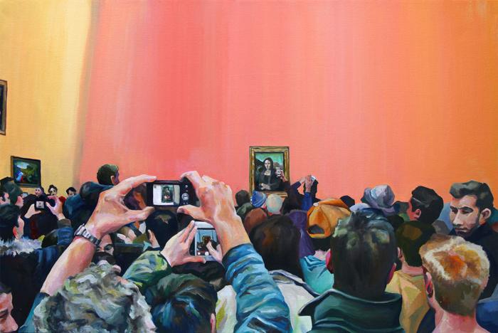 Мона Лиза, IRL.  Автор: Michelle Ramin.