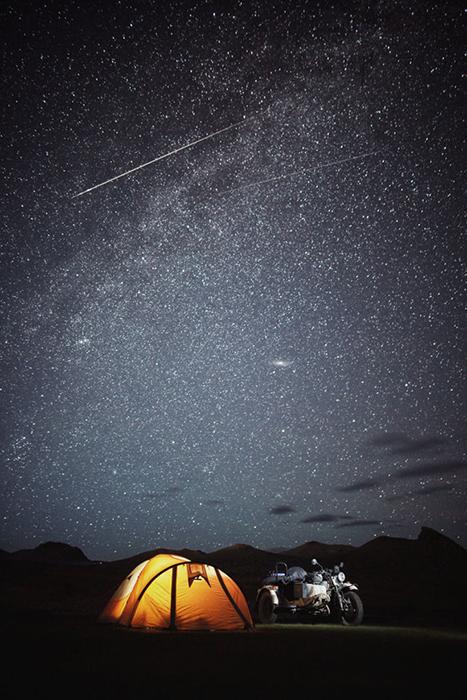 Монгольское небо.  Instagram bizoo_n.