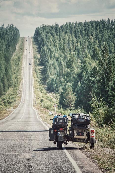 Сибирские дороги.  Instagram bizoo_n.