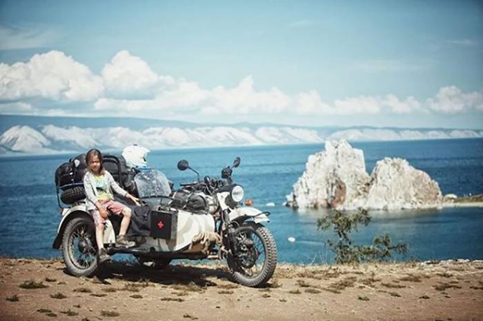 Озеро Байкал.  Instagram bizoo_n.