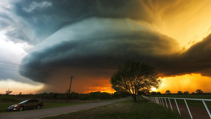 Волшебство облаков.