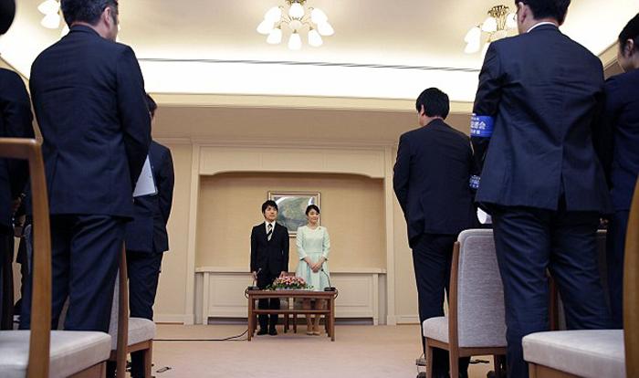 Принцесса Мако официально объявила о своей помолвке с Кеи Комуро.