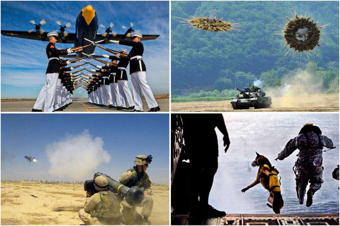 Уникальные кадры из военной жизни.