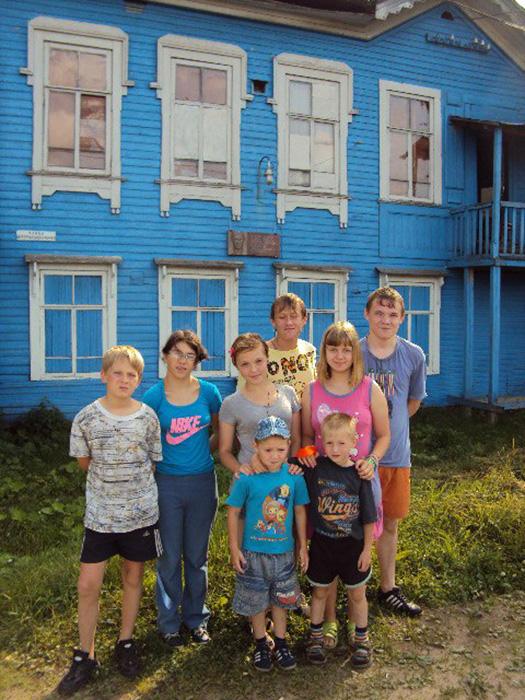 Дети из центра «Гаврош».