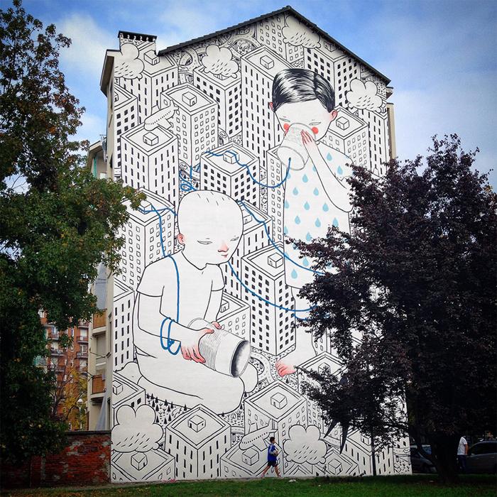 Граффити от Millo.