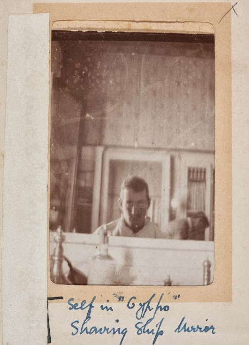 Кавалерист Джордж Симпсон Миллар. Египет, 1915 г.