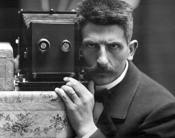 Швейцарский фотограф Фредерик Буассоннас, 1900 г.