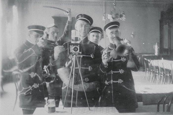 Совместное сэлфи. Германия, 1912.