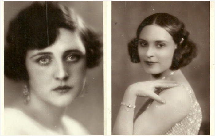 Красавицы Европы 1929 года.