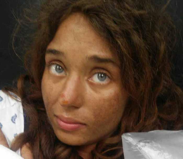 Лиза Терис бродила 28 дней по лесу.