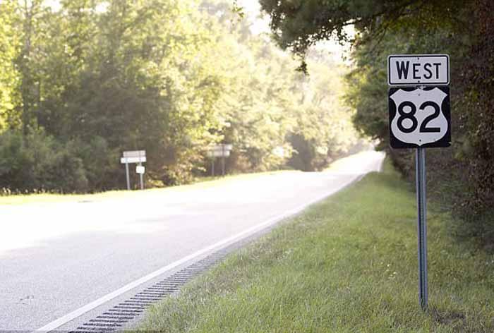 82е шоссе, на котором нашли Лизу.