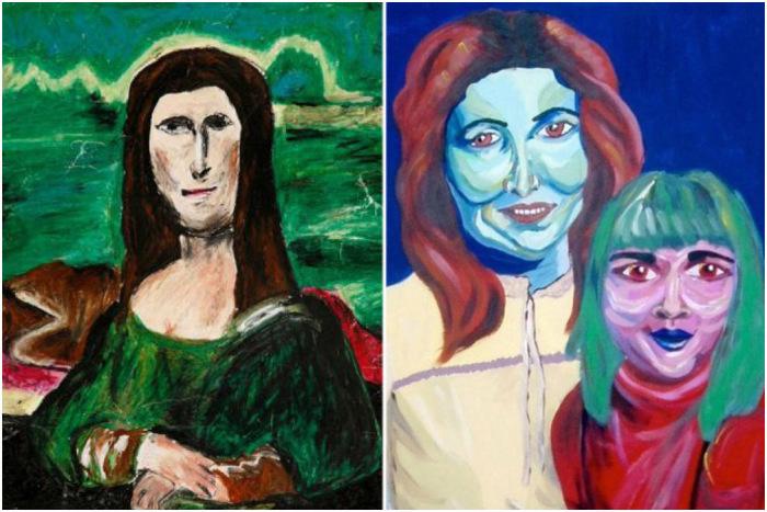 Чудовищно безвкусные картины, от которых не оторвать глаз. Музей Плохого Искусства в Бостоне.