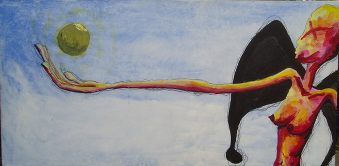 Длинная рука закона (Long arm of the law). Автор: Farleigh Goss. Художник воспринял известное выражение дословно. Впрочем, аномально длинные конечности компенсируются довольно симпатичной грудью у Справедливости. Все-таки справедливость есть справедливость.