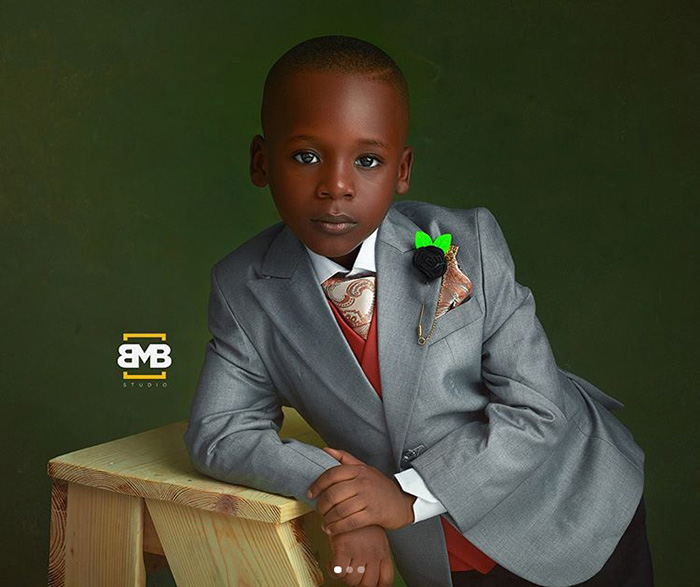 Ласе отмечает свой шестой день рождения. Instagram mofebamuyiwa.