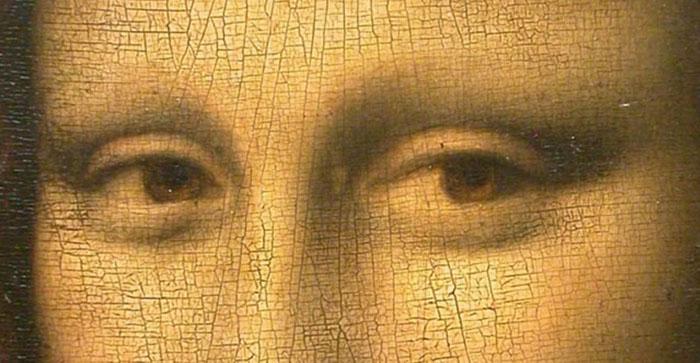 Фрагмент картины Леонардо Да Винчи.