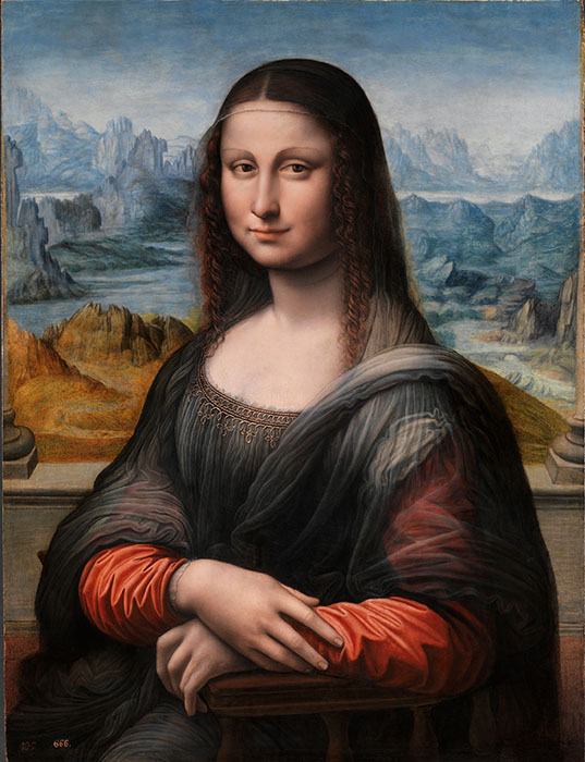 Мона Лиза в Прадо.