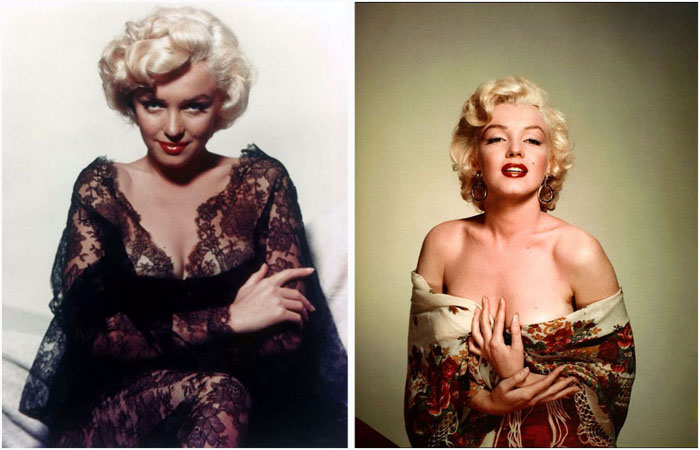 the life glamour and downfall of marilyn monroe Visitors are reflected in milton h greene photos titled marilyn monroe —negligee series c 1953, part of essentially marilyn: the exhibit at the paley center for media in beverly hills.