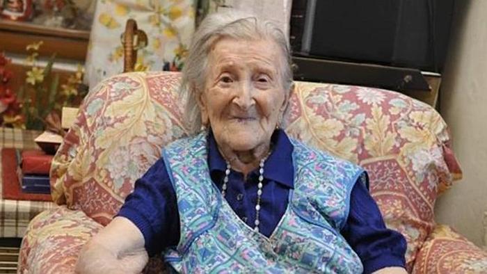 Эмма Морано дожила до 117-летнего возраста.