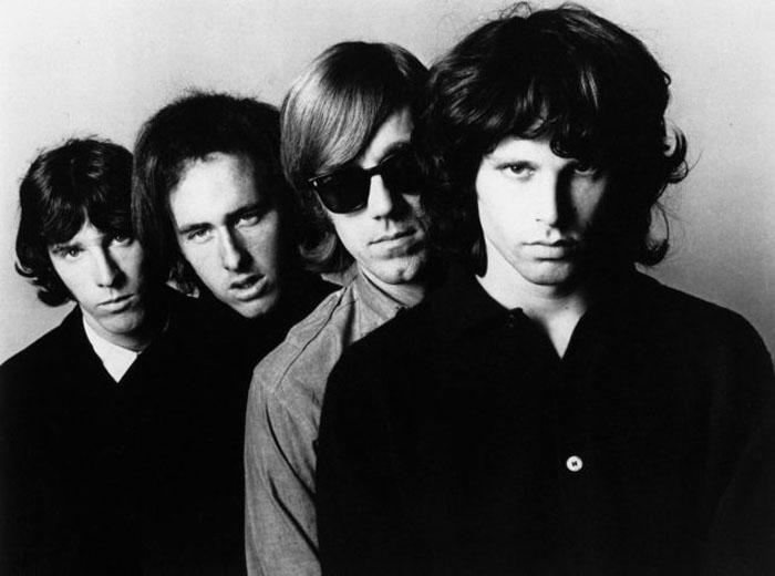 Фото группы The Doors в 1966г.