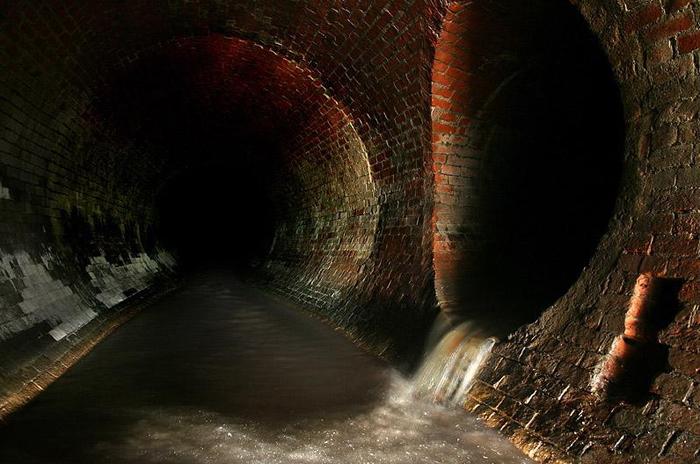 Подземные коридоры.