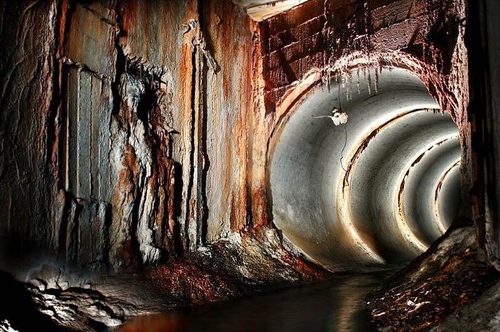 Покинутые бездействующие тоннели под Москвой.