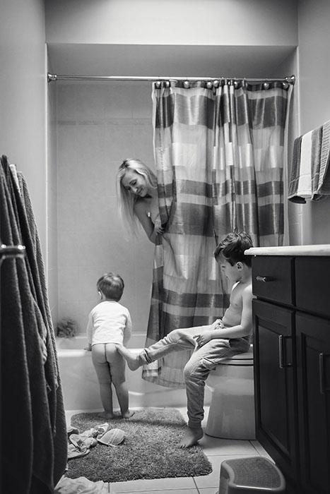 От детей не сбежишь и не скроешься.